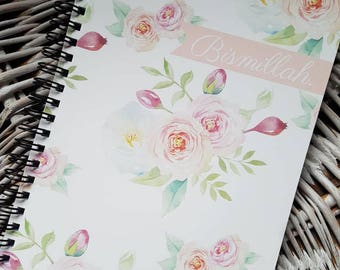 NEW COLLECTION notebook Bismillah soft rose