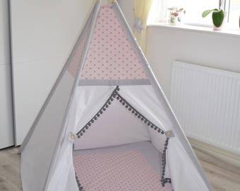 Teepee tent for children (UK handmade)
