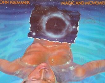 John Klemmer Vinyl Record, Magic And Movement vintage vinyl record