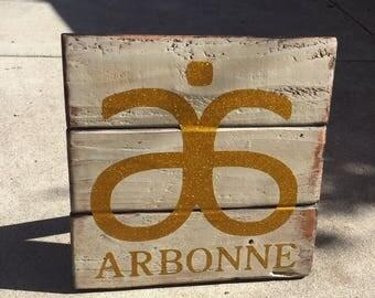 Arbonne Pallet Sign #arbonne #consultant #sign #pallet