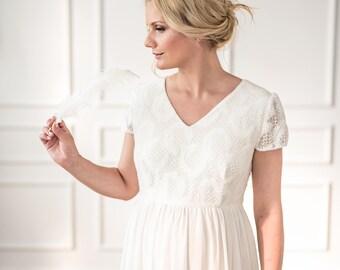 "Maternity wedding dress ""Magnolia"""