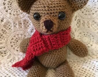 Crocheted/Amigurumi Teddy Bear