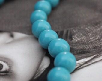 Resin Beads, 10mm Beads, Round Beads,