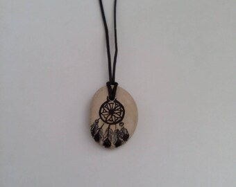 DreamCatcher necklace dream stone