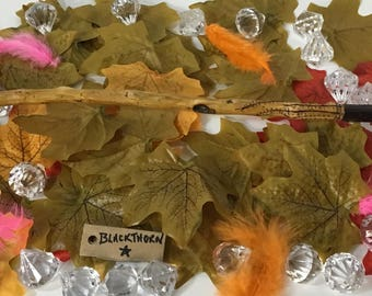 Hand made wand from Blackthorn.  W127