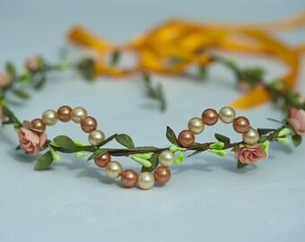 """Mediterranean"" model flower Crown"