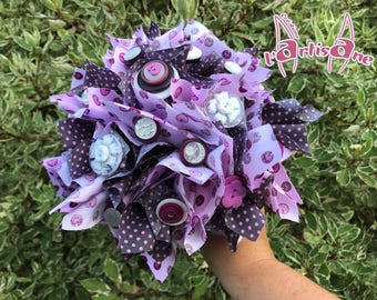 "Bridal bouquet ""Cap ' purple"""
