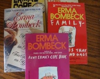 Lot of 5 Erma Bombeck Paperbacks