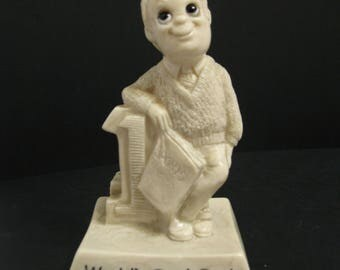 World's Best Dad Figurine - R & W Berries Co 1976