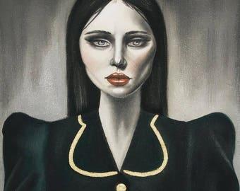 Priska  - Art Print - 30 x 40cm