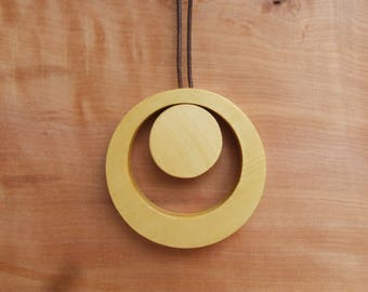 Handmade Wooden Necklace, Modern wood jewelry, Unique Necklace, Women Jewelry, wooden pendant necklace ,wooden jewelry, wooden jewellry