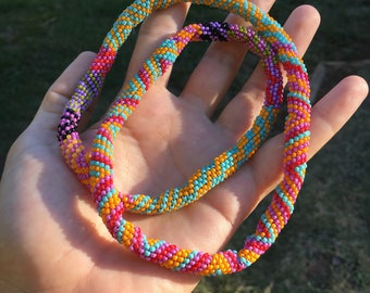 "23"" Beaded Rope Necklace"