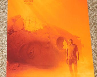 "Blade Runner 2049 ""Harrison Ford"" 11.5x17 Promo Movie POSTER"