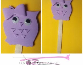 Bookmark/halloween bookmark/gift idea/owl