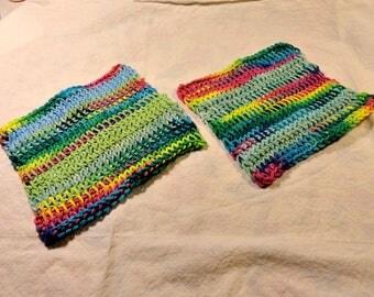 Hand Crocheted Cotton Dish Cloths