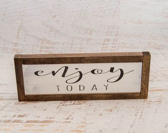 Farmhouse Chic Decor | Wooden Sign | Inspirational Wall Art | Bedroom Inspiration | Farmhouse Home Decor | Inspirational Sign