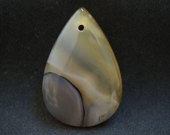 AGATE TEARDROP shape PENDANT