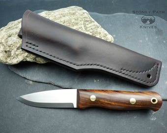 Bushcraft Knife / woodlore style / Survival Knife / Camping Knife / Handmade Knife