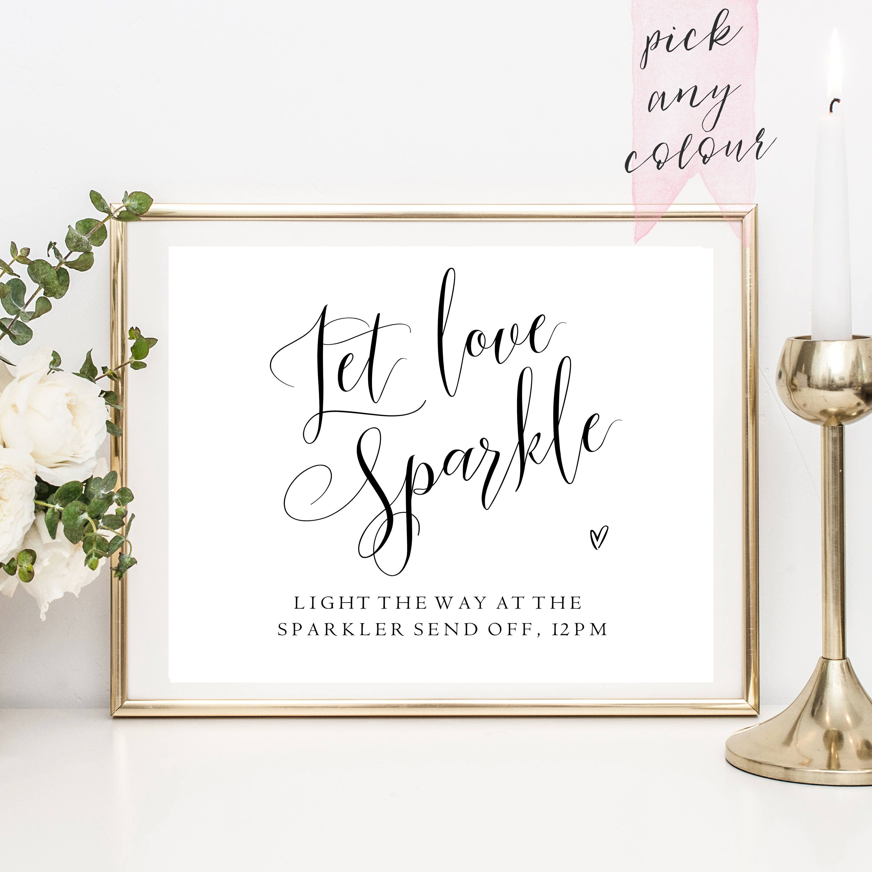 Bubble Send Off Printable Bubble Send Off Sign Wedding Sign Decor