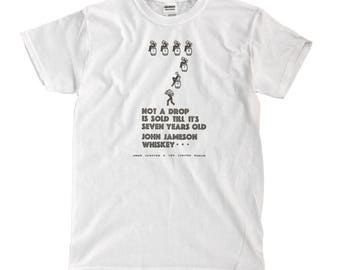 Jameson Vintage Ad - White T-shirt