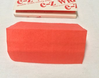 Lot of 2 Vintage/New E-Z Wider Strawberry Tobacco Rolling papers