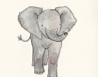 Original illustration - Elephant