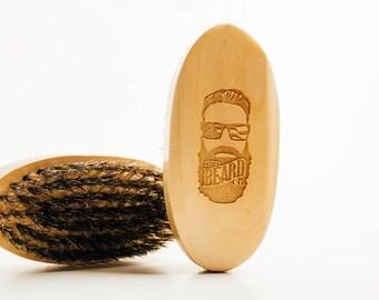 Wooden Boar Brush