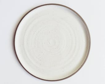 Raw Edge Dinner Plate