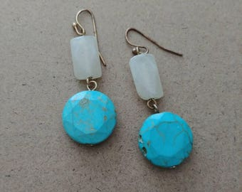 Turquiose Stone Earrings