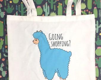 Alpaca Bag Funny Tote Bag