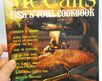 McCall's Fisn'N'Fowl Cookbook Vintage