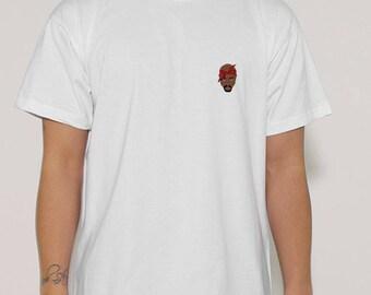 T shirt swag hip hop 2 pac tupac shakur
