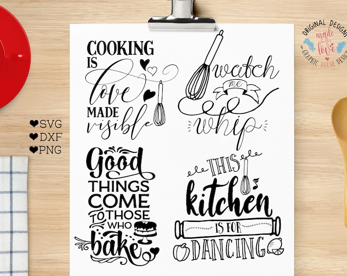 svg bundles, kitchen svg, kitchen quotes, cooking svg, cooking bundle, cooking quotes, home svg, decal designs, tote designs, mug designs