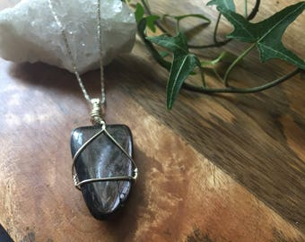Hypersthene Gemstone Pendant
