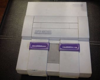 Super Nintendo Entertainment System Console Only Tested and Working