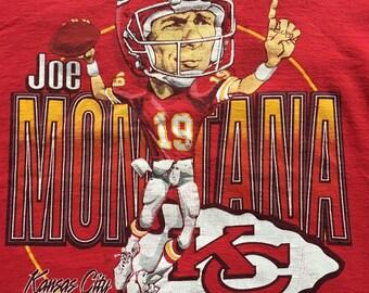 Vintage Joe Montana Chiefs t-shirt