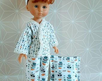 Sweethearts of corolla 33 cm-Pajamas Scandinavian dolls clothes-