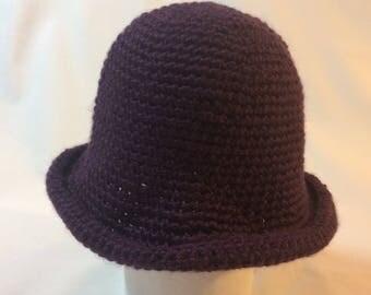Simple Cloche Winter Baby Hat