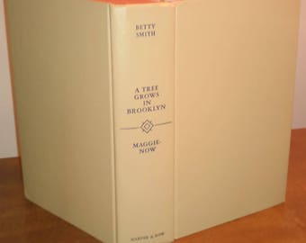 1960 Betty Smith A Tree Grows in Brooklyn and Maggie-Now Vintage Book
