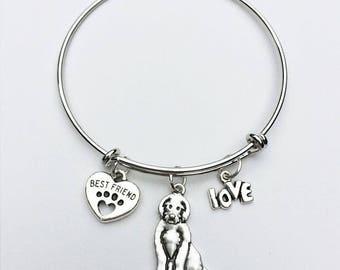 Labradoodle Best Friend Charm Bracelet