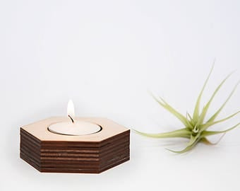Geometric Tealight Candle Holder