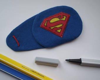 """Super Hero Eye Patch for Glasses (amblyopia, """"lazy"""" eye)"""