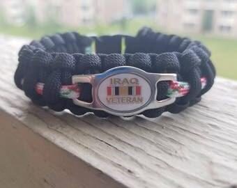 Iraq Veteran Paracord bracelet