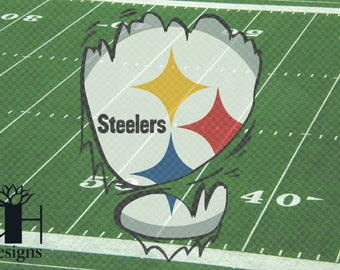 Shredded Steeler SVG/PNG