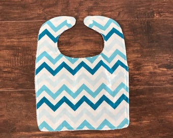 Baby Bib, Baby Boy Bib, Toddler Bib, Blue Burp Cloths, Baby Boy Gift, Baby Shower Gift, Bib Set