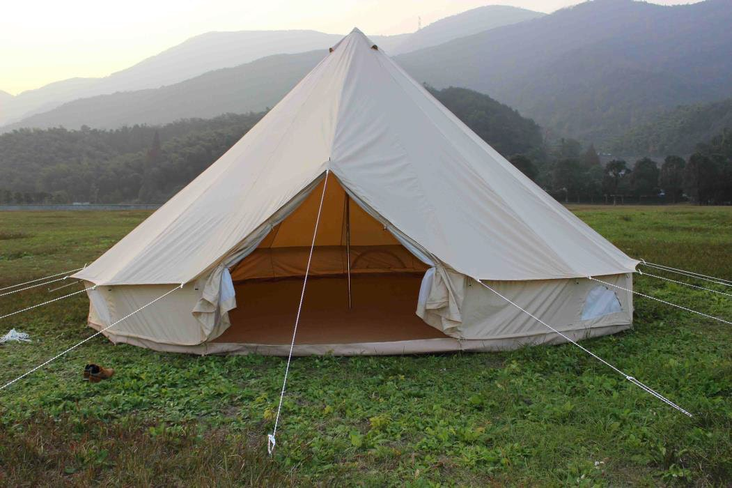 Once you put up a bell tent you will never not be able to. Follow these instuctions and you will be well on your way to having a bell tent set up. & So how do I put up a Bell tent?
