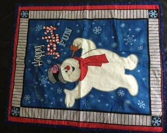 Christmas/Frosty the Snowman quilt