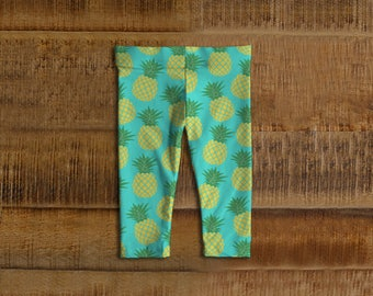 Pineapple Kids Leggings