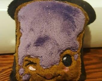 Grape Jam Toast Plushie
