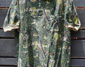 Men's Camo Polo Shirt